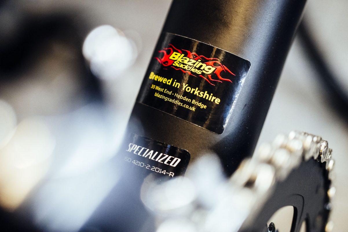 Blazing Saddles bike shop in Hebden Bridge