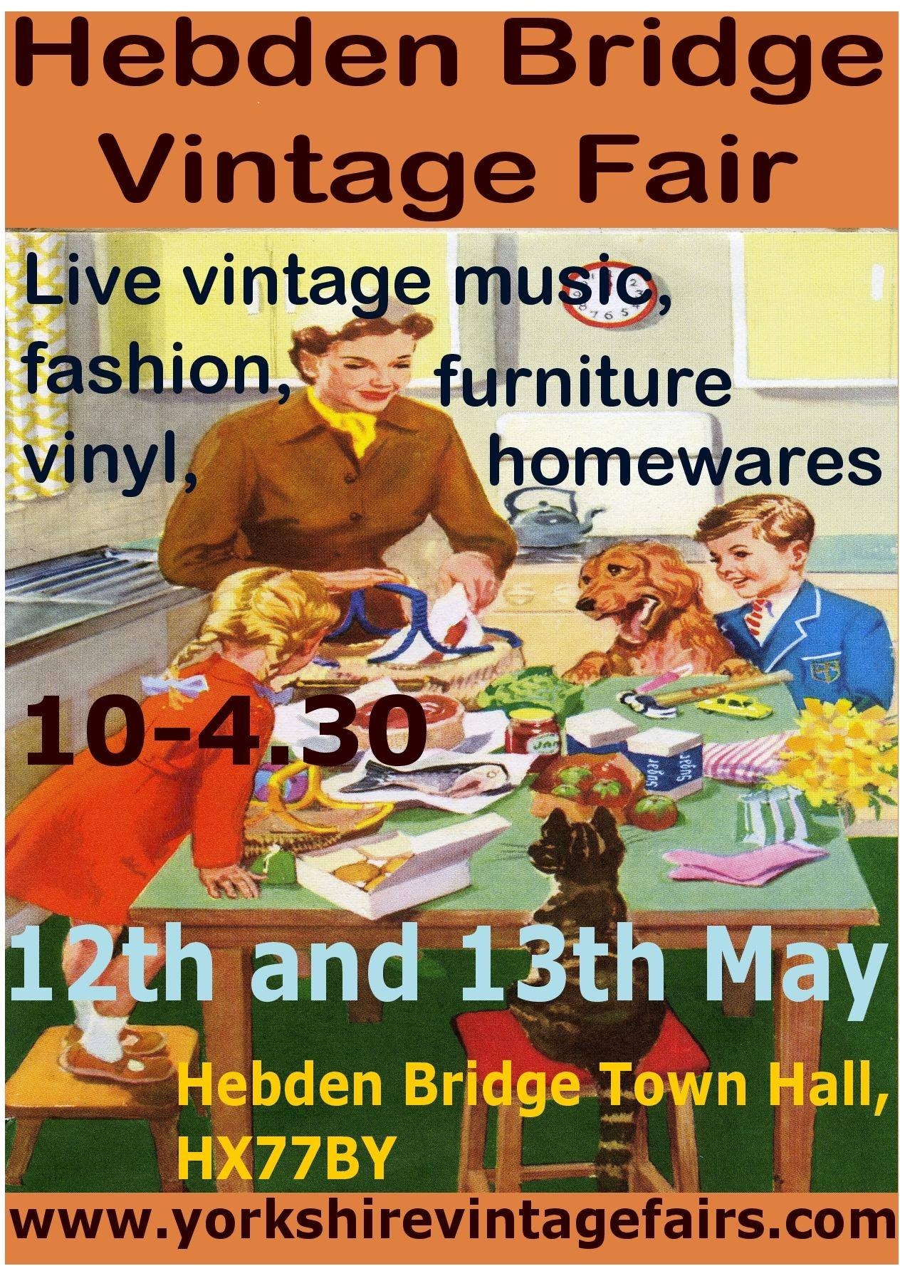 hebden bridge vintage fair