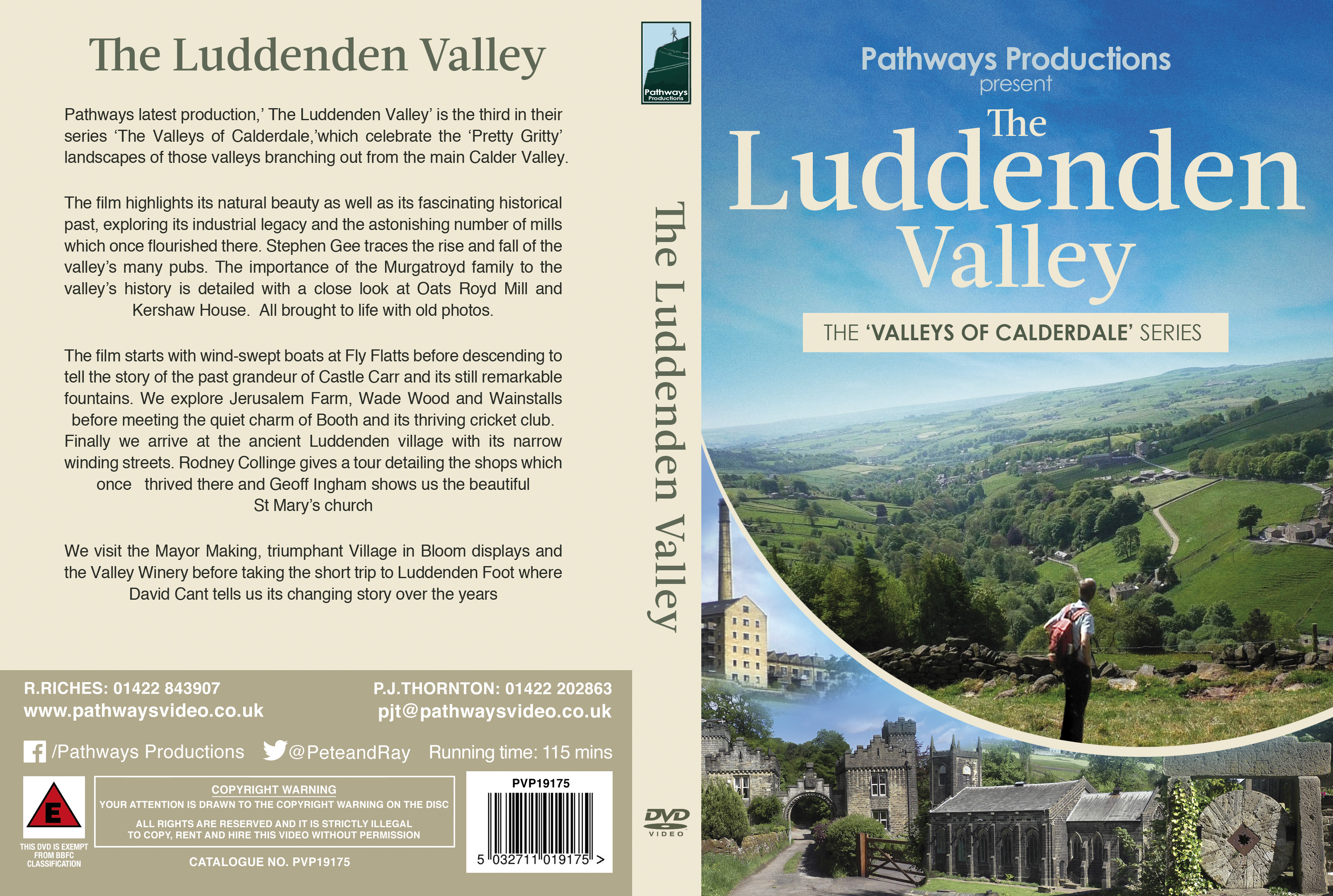 Luddenden Valley by Pathways Productions