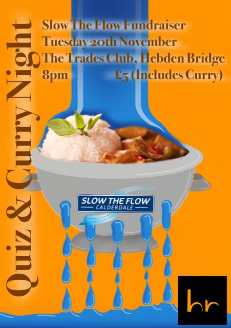Quiz & Curry 20th November at The Trades Club, Hebden Bridge