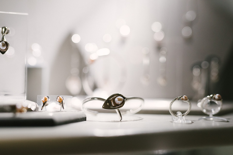 jewellery by Amanda Cox at heart gallery