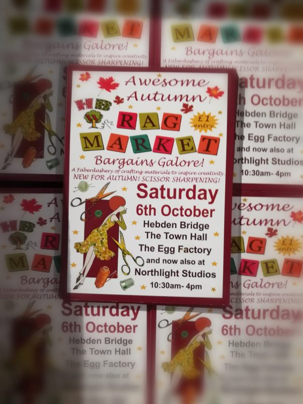 Hebden Bridge WI Awesome Autumn Rag Market