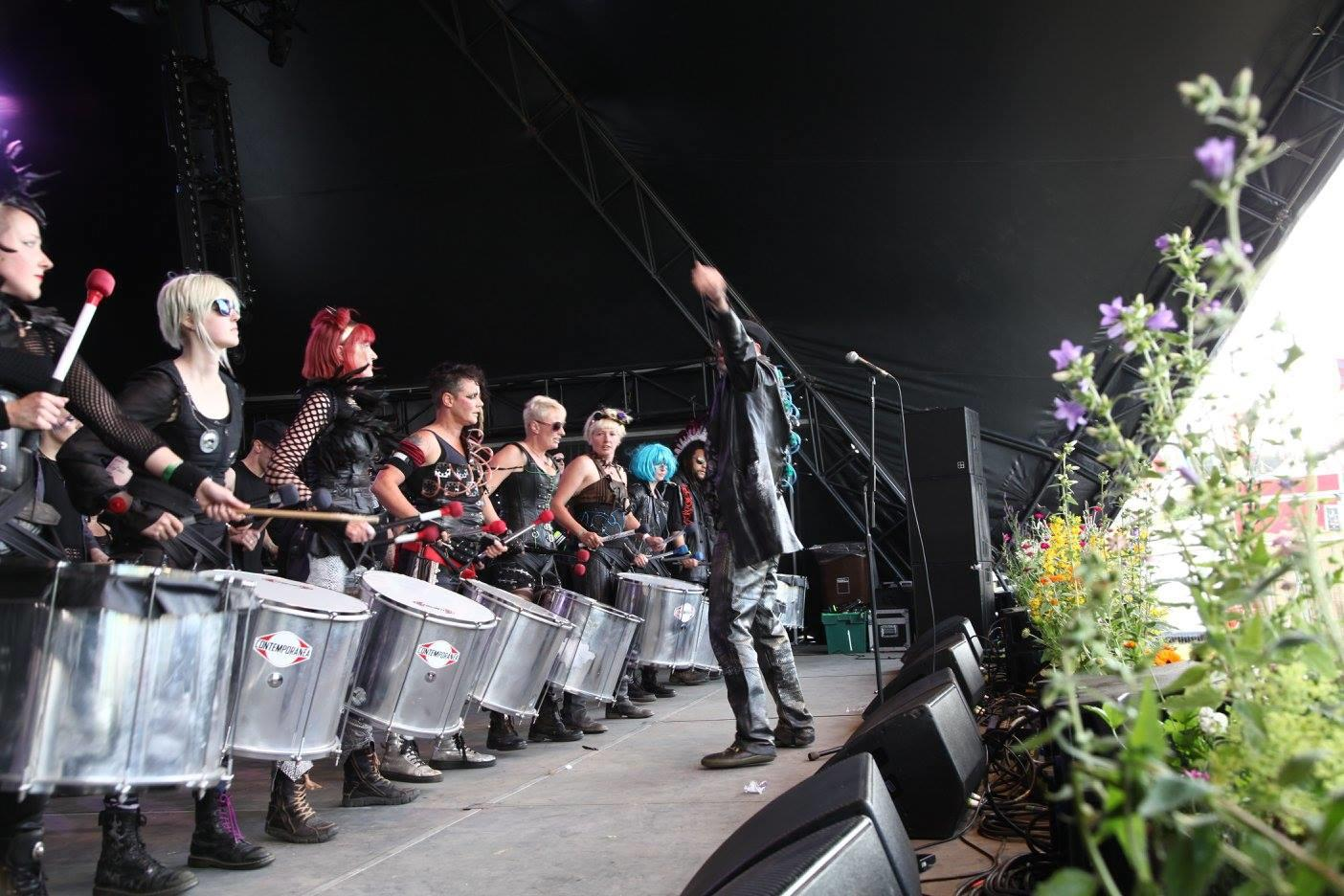 hebden bridge drum machine WI event