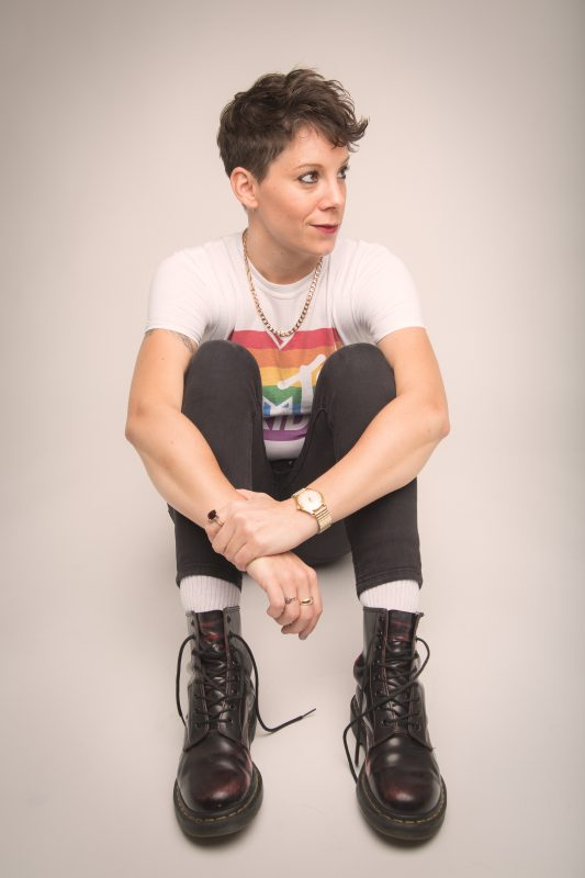 Suzi Ruffell at Happy Valley Pride 2019