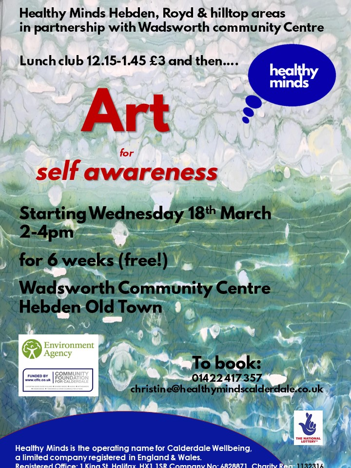 Art for Self-awareness with Healthy Minds